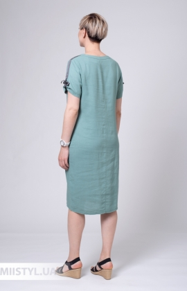 Платье Рута С 4408ЛН Морская волна