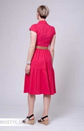 Платье Asil 960-21195 Малиновый