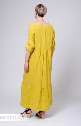 Платье Zelante 5646 Горчичный
