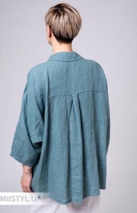 Блуза Zelante 3327 Морская волна