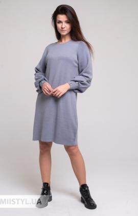 Платье Serianno ELB1296 Серый