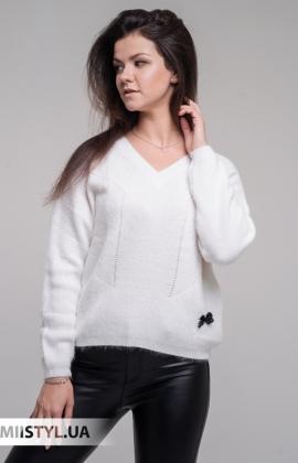 Джемпер Serianno 10C3436 Белый/Люрекс