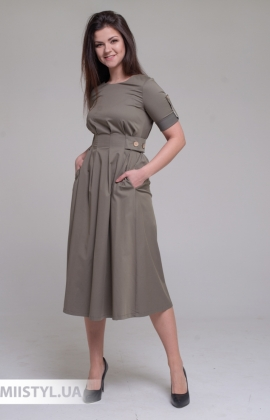 Платье F&K 3001 Хаки