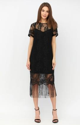 Платье RM1942-19VC Черный