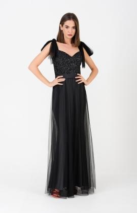 Платье RM1945-19VP Черный