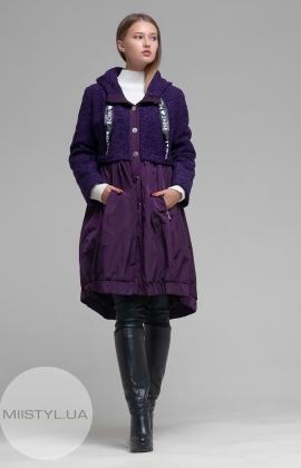 Пальто Imperial U9990004G Фиолетовый