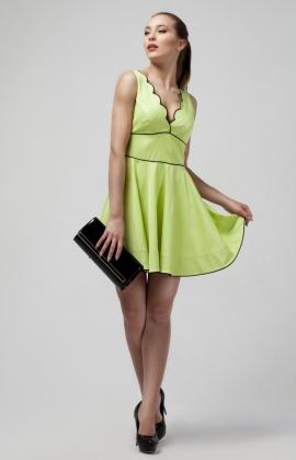 Платье Rica Mare RM856-14VC Салатовый